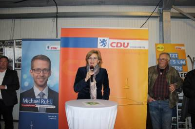Julia Klöckner in Alsfeld -